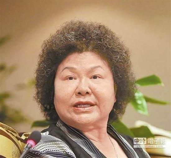 """陈菊。(图片来源:台湾""""中时电子报"""")"""