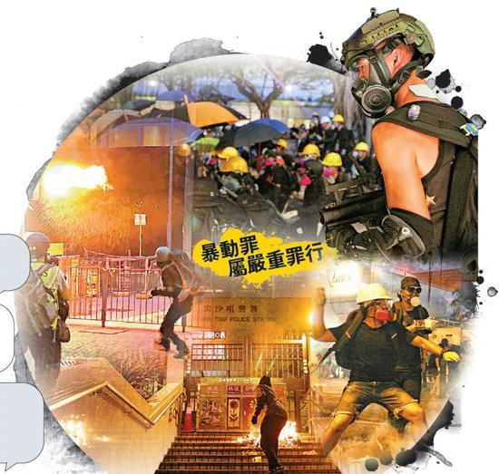 """香港多名暴動犯獲保釋 網友感嘆""""犯罪代價太便宜"""""""