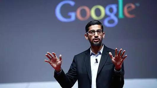 ▲谷歌CEO桑达尔·皮查伊
