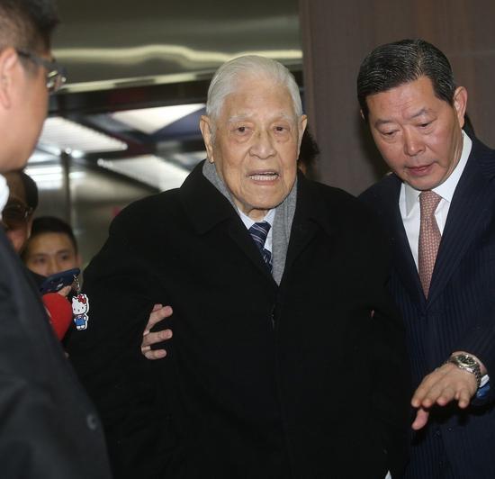 """台湾地区前领导人李登辉领导人""""礼遇金""""将届满(图片来源:联合新闻网)"""