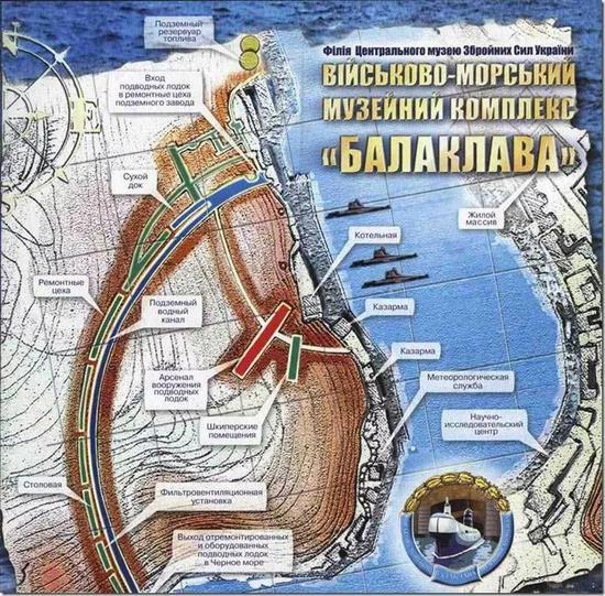 ▲苏联水师巴推克推瓦公开潜艇基天表示图。(巴推克推瓦公开潜艇基天旅游网站)