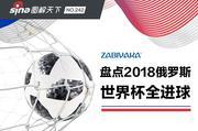 盘点2018俄罗斯世界杯全进球