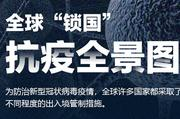"""全球""""鎖國""""抗疫全景圖"""