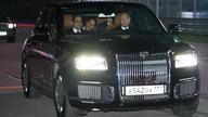 """""""老司机""""普京开新车带埃及总统上F1赛道兜风"""