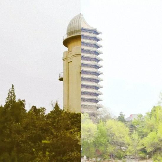 ▲天文台&博雅塔