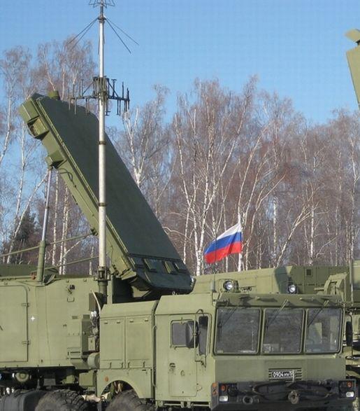 俄制S400防空系统的大脑:92N6A多功能火控雷达