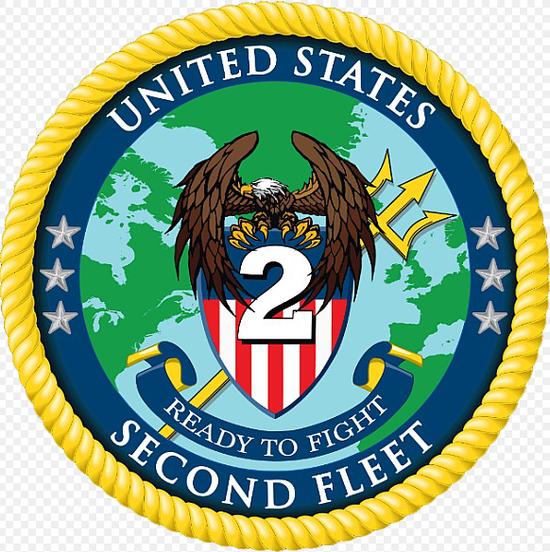 第二舰队的新标志,注意三叉戟指向巴伦支海和北极