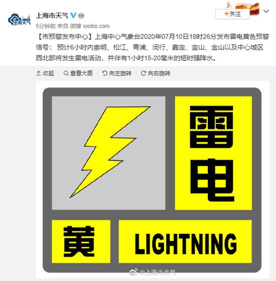 杏悦:心气象台发布雷电黄色预警杏悦信图片