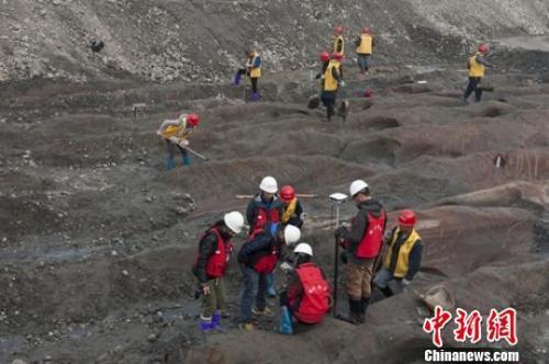 资料图: 2017年江口沉银考古发掘现场。刘忠俊 摄
