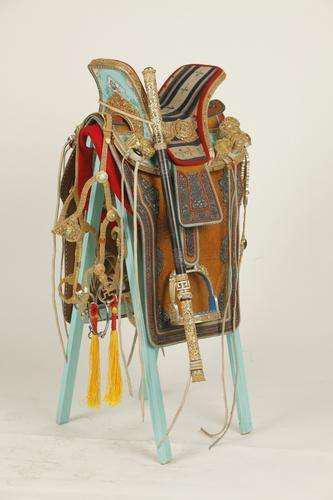 精美的蒙古族马具