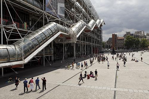 蓬皮杜艺术中心(外景) 图片提供:蓬皮杜艺术中心 图片版权: Hervé Véronèse
