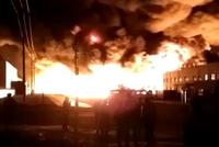捉谣记|天津滨海新区官方辟谣:起火地非化工企业