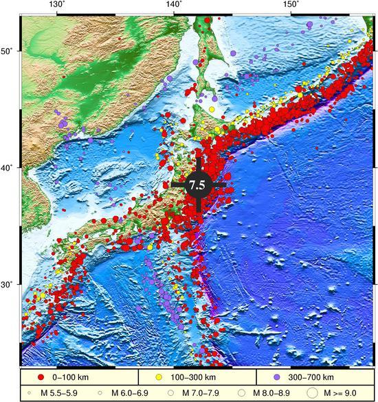 日本本州东岸近海海域发生7.5级地震 自然资源部:不会对我国沿岸造成影响图片