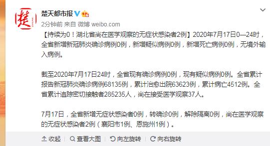 杏悦,北省尚在医学观察的无杏悦症状感染者2图片