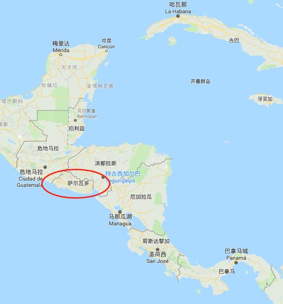 """萨尔瓦多宣布与台湾""""断交"""" 台""""友邦""""降至17个"""