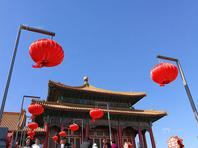 """北京大风刮出""""高颜值""""故宫"""