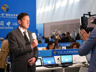 """各国记者聚焦第二届""""一带一路""""国际合作高峰论坛"""