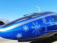 京张高铁进入双列重联动车组试验 时速已达350公里