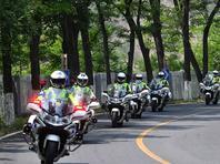 往返140公里,多种复杂路况,首都交警铁骑举行拉练骑行
