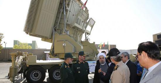 圖爲伊朗防空系統