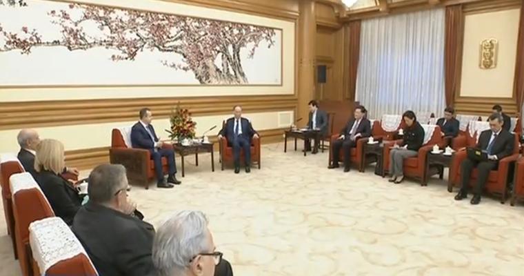 视频-《新闻联播》王岐山会见塞尔维亚第一副总理兼外长
