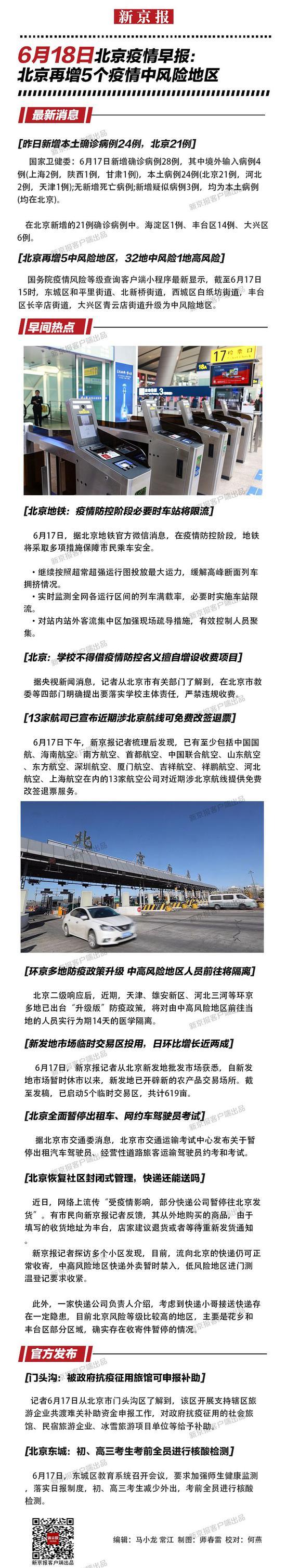 摩天测速:18摩天测速日北京疫情早报图片