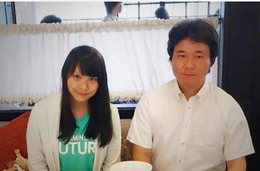和田健一郎和周庭早在2016年就已相识 图自脸书