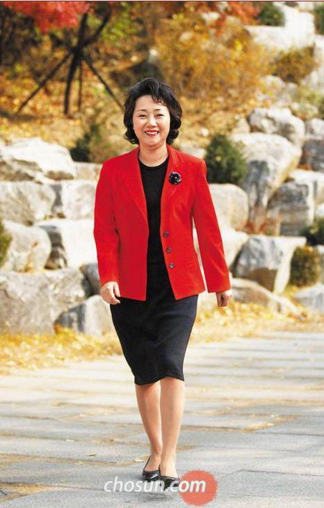▲李允香(拍摄于2010年)图据《朝鲜日报》