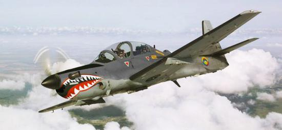"""資料圖片:A-29""""超級巨嘴鳥""""(圖片源於網絡)"""