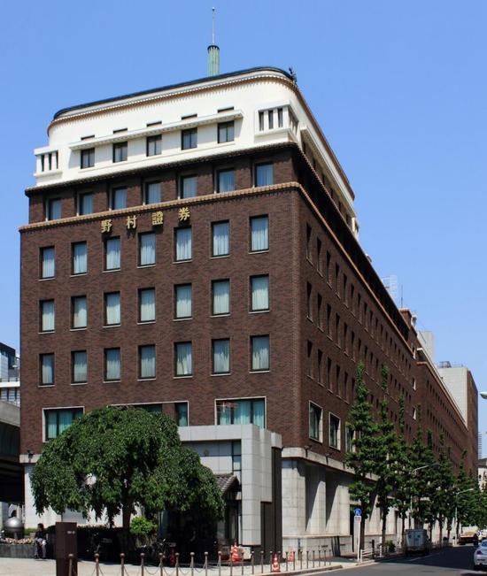 ▲野村证券总部 图片来源:维基百科/Kakidai