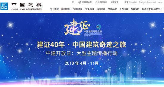 中国修建团体民网截图