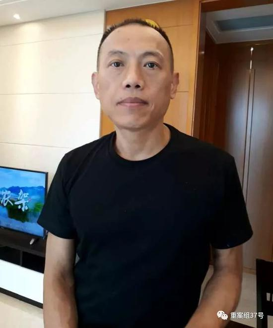 ▲图为黄启明,2018年7月12日,摄于山东济南某酒店。受访者供图