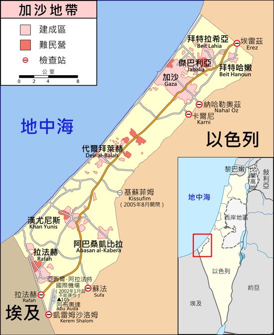600发加沙火箭弹袭击 以色列称将大规模空袭报复