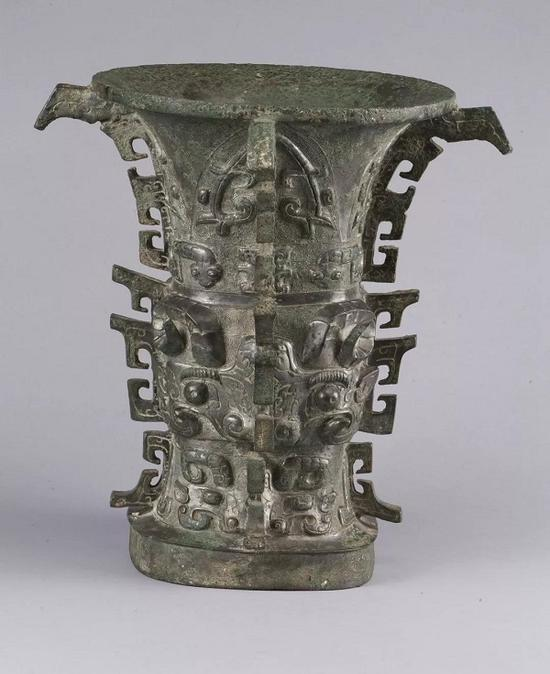 何尊 西周 1963年宝鸡县贾村塬出土 宝鸡青铜器博物院藏