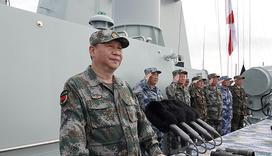 习近平对海军受阅部队讲话