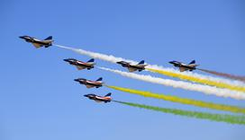 空军70周年飞行表演