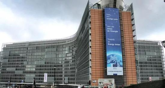 ▲欧盟总部大厦