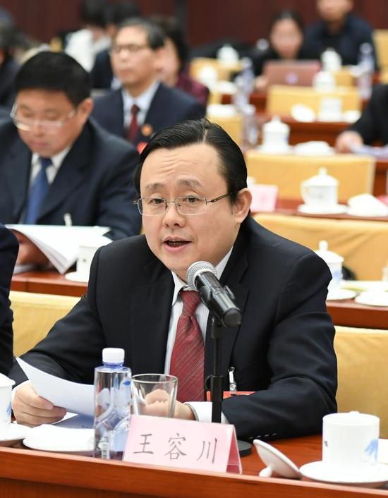 王容川代表。