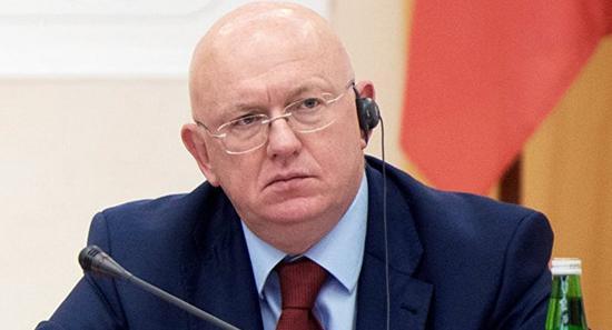 俄罗斯常驻联合国代表涅边贾(图片来源:俄罗斯卫星网)