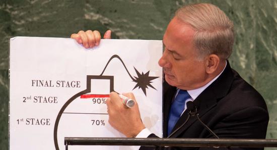 以色列总理内塔尼亚胡(法新社)