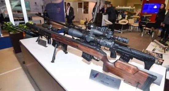 图为MTs-116M狙击步枪