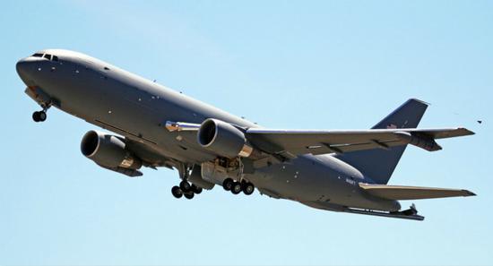 KC-46远程空中加油机资料图(图:俄罗斯卫星通讯社)