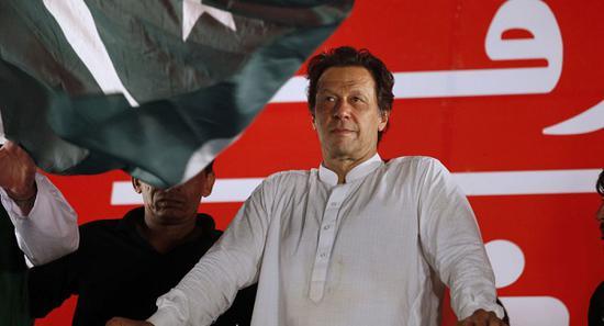 巴基斯坦总理伊姆兰·汗(图源:美联社)