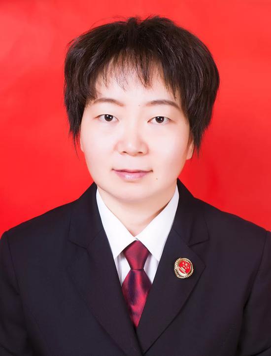 高树娜,淄博市人民检察院公诉二处检察官助理。