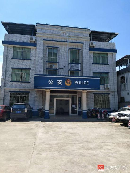 位于广东省梅州市梅县区西北部的梅西派出所。受访者供