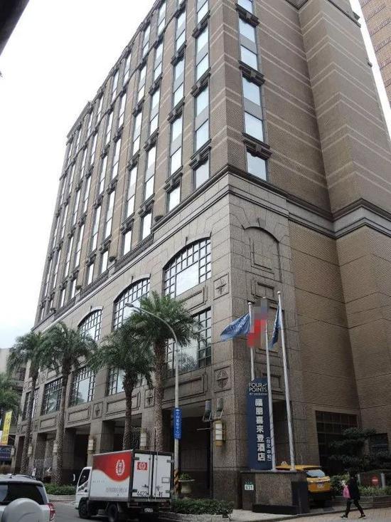 中和福朋喜來登酒店。来源:台湾《自由时报》