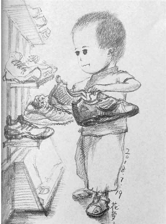 美术老师手绘带娃心得:是成长日志也是回忆录(图)