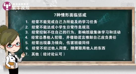 视频:戒尺该不该还给老师 这个小学要给老师惩戒权