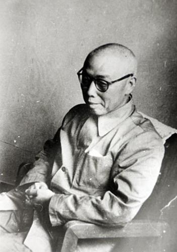 著名剧作家田汉先生。中国戏曲学院供图