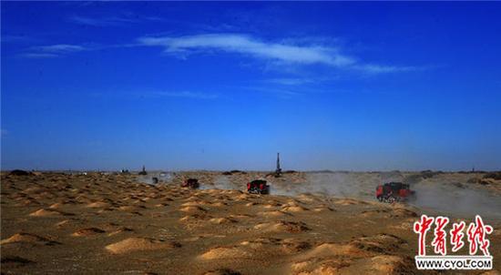 """中国这一地区连续发现5个""""亿吨级""""油气田"""